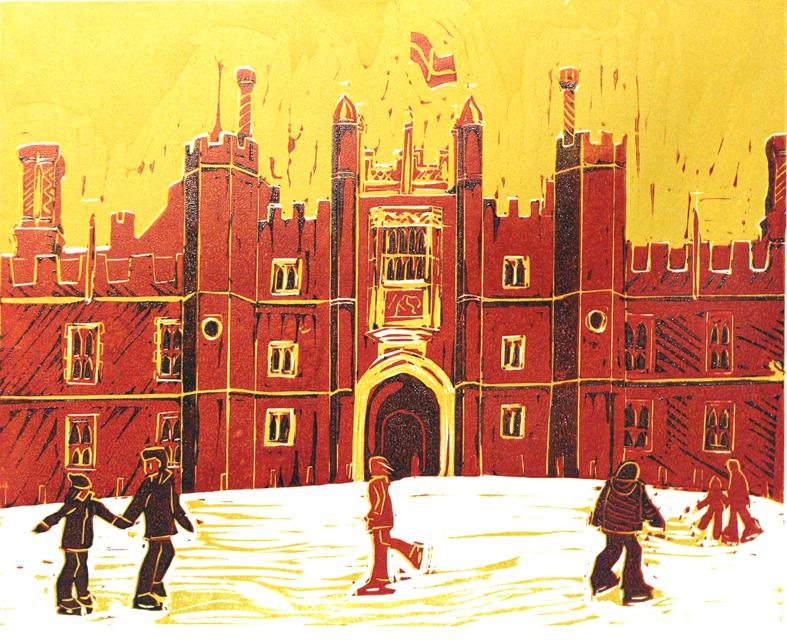 Ice Rink at Hampton Court