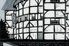 Shakespeare's Globe, grey