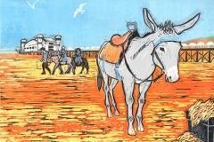 Weston donkey red