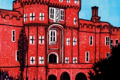 Herstmonceux-Castle-linocut-by-Fiona-Horan