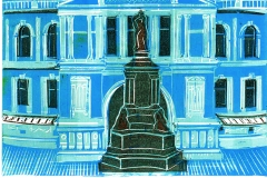 Royal Albert Hall, A4 blue